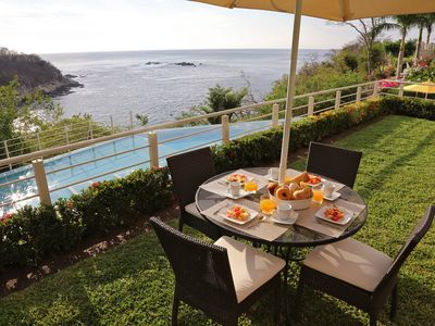 Photo for Fantastic Condo at Huatulco with Great Ocean Views