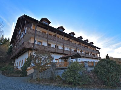 Photo for Beautiful apartment in the Bavarian Forest with balcony and view of the Osser