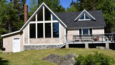 Photo for Down East, Bold Coast, Oceanfront Chalet-Style Home