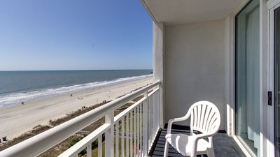 Photo for Oceanfront Suite with a Balcony | Hot tub + Pool Access, and More!