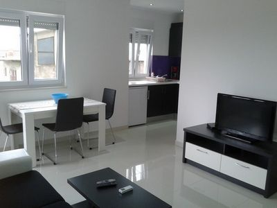 Photo for Apartment Pivac - New, large one-bedroom apartment with balcony