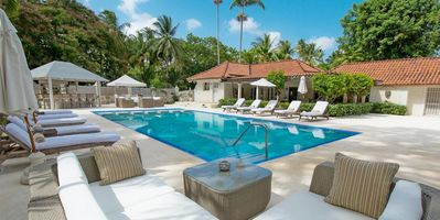 Photo for Melissa - Popular 5 bedroom villa with private pool and 2 minute stroll to the beach.