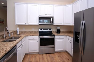 Fully equipped kitchen to help make meal prep a breeze.