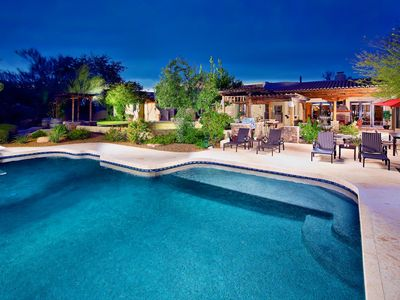 Photo for Relaxing Heated Pool, Bocce Court, Spa, Putting Green, Concierge Service, More