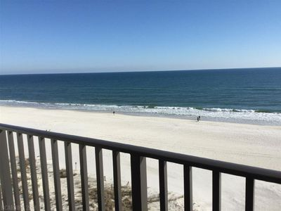 Photo for Oceanfront penthouse-views of the white beach and turquoise waves of the Gulf.