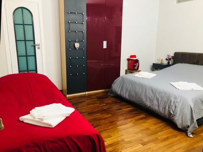 Photo for CENTRAL ROOM IN NAPLES (CHIAIA) WITH PRIVATE BATHROOM FOR 3 PEOPLE. WI-FI.