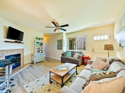 Amazing Condo w/ Patio,Steps to Beach,Pier+Shops