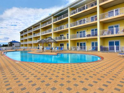 Photo for Beachfront 3 bedroom condo at Grand Caribbean in Port Aransas!