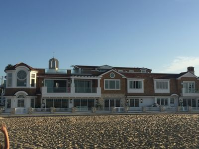 Photo for Newly Built Nantucket -- Luxury Living Right On The Sand -- Newport Peninsula