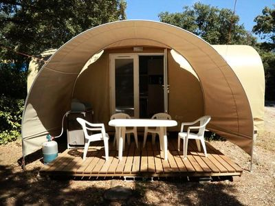 Photo for Campsite Fondespierre *** - Coco Sweet 3 rooms 4 people Without Bathroom