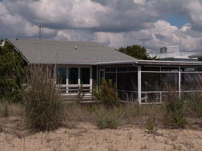 Photo for Renovated Oceanfront House on Private Beach