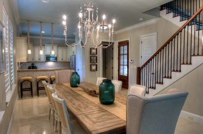 large grand dining room table