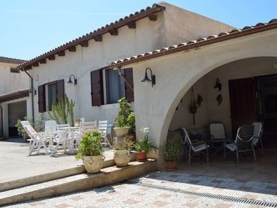 Photo for Villa Silvana an oasis to relax on the Mediterranean Sea