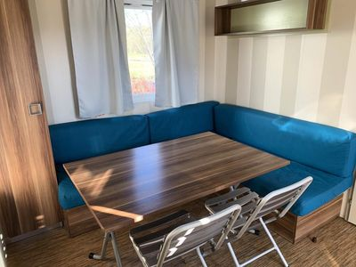Photo for Camping L'Etang des Forges *** - Super Titania 4-room mobile home 6/8 people