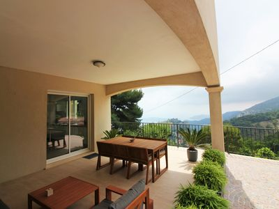Photo for Villa 3 bedrooms - Panoramic view - Terrasse - Barbecue
