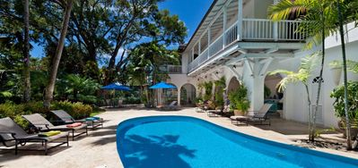 Photo for Villa Calmaro  - # Beach Front ^ Located in  Exquisite Saint James with Private Pool