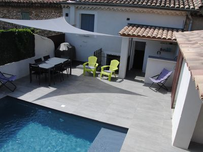 Photo for Village house with Pool / BBQ Terrace