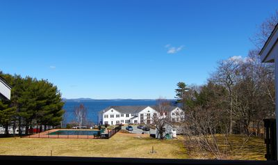 The view from the deck off the Living Room.