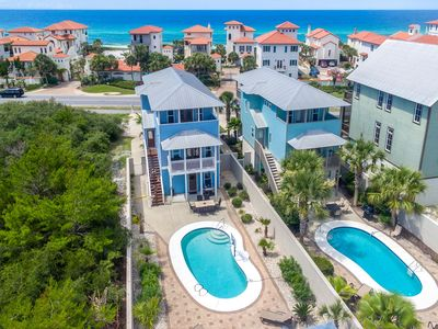 Photo for FOOTPRINTS IN THE SAND: New Guest House, Huge Pool, Gulf Views, Private!