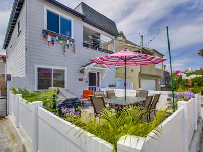 Photo for BOOK YOUR SUMMER VACATION NOW! JUST STEPS TO MISSION BEACH! ( SLEEPS 8 )