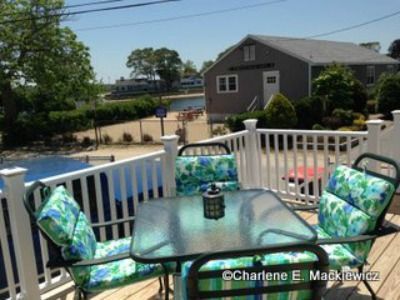 Photo for Steps to the beach & close to Cape Cod!