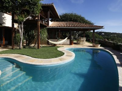 Photo for Buz025 - Luxury four bedroom house with pool in Búzios