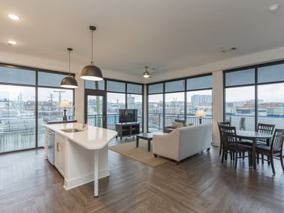 Photo for PENTHOUSE Steps to Washington St. Convention Center! 30 Day Rental