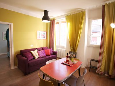 Photo for Colorful and Lively Vatican Apartment - Apartment for 4 people in Roma