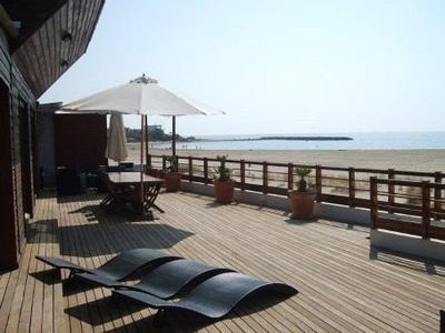 Photo for House on the sea front (Cap d 'Agde) direct access to the beach, with swimming pool