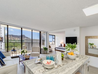 Photo for Diamond Head Views!  Freshly renovated!  A/C, Parking and WiFi  Included!