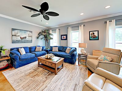 Living Area - Welcome to Rockport! This home is professionally managed by TurnKey Vacation Rentals.