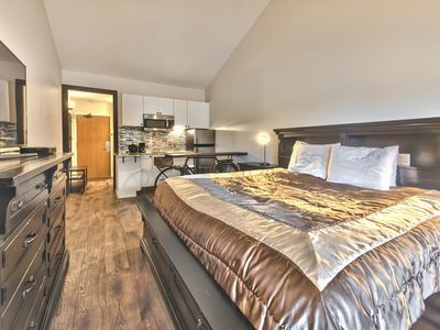 Photo for Studio Condo with King Bed at the Prospector in Park City