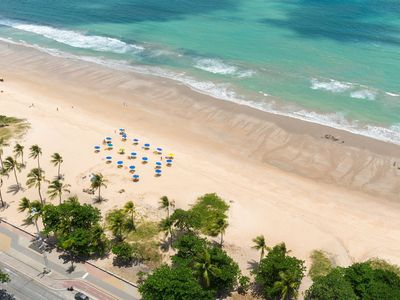 Photo for RAD2704 Excellent Flat beachfront of Boa Viagem beach, the Radisson Hotel, the best local waterfront