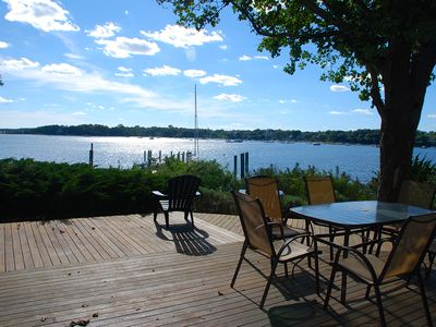 Photo for Best View in Oyster Harbors with Private Beach and Deep-Water Dock