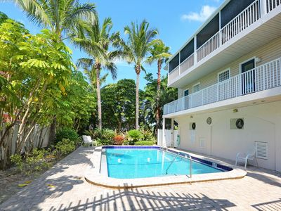 Photo for Tropical Terrace - A Townhouse 1 block to the beach - PET FRIENDLY!