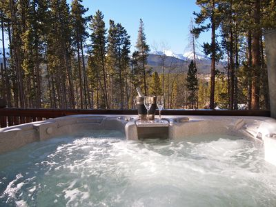 Photo for Hot tub! Mountain Views, Minutes to town & skier parking, best location in Breck