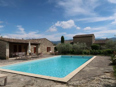 Photo for Vacation home Les Combettes in Gordes - 10 persons, 4 bedrooms