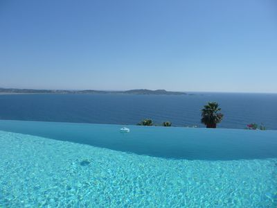 Photo for exceptional panoramic sea and golden islands in an enchanting setting.