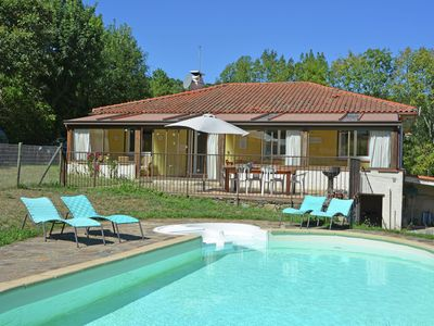 Photo for Beautiful, child-friendly, one-level villa with private swimming pool and stunning views