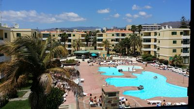 Photo for LAS OLAS PLAYA DEL INGLES 2 BEDROOMS, 100M FROM THE BEACH