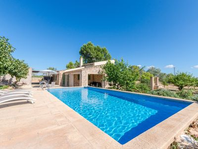 Photo for CAS SITJAR - Country house with private pool on the outskirts of Porreres