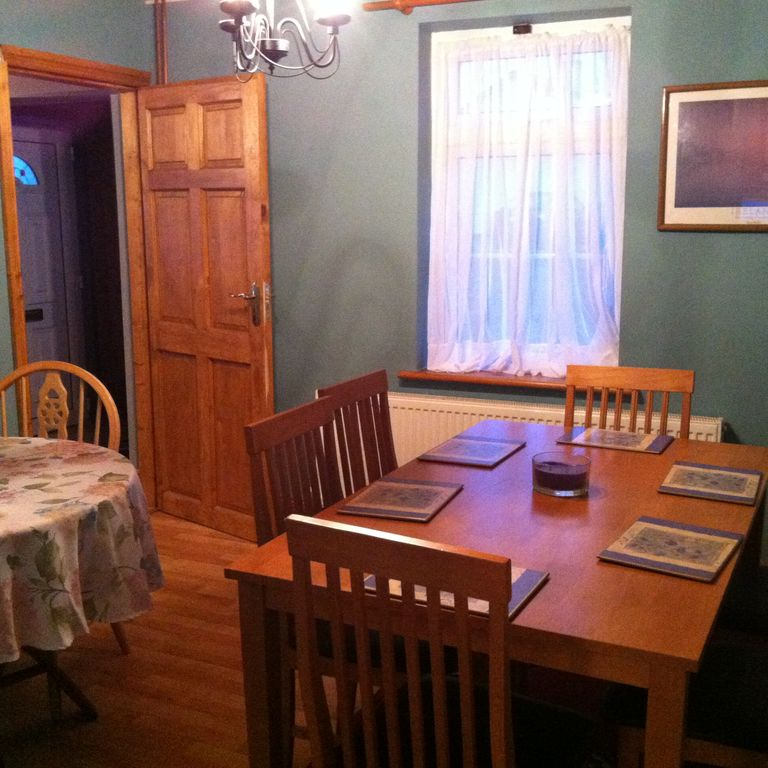 Dining Room Has Two Tables