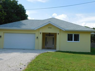 Photo for Fabulous new home with huge pool, minutes to Manasota Beach