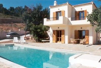 Photo for Villa Eleni .Peloponnese villa with its own private pool