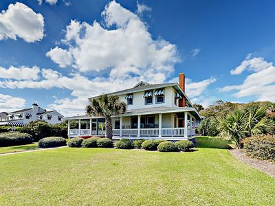 Photo for Beachfront 6BR w/ Covered Wraparound Porch - Near Village Square & Downtown