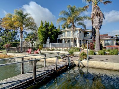 Photo for 4 BR Waterfront Home, Private Beach