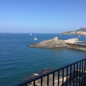 Outstanding view on the Mediterranean sea a summer view !
