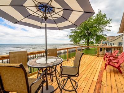 Photo for Lake Breeze Retreat on the shores of Lake Erie - booking now for summer!