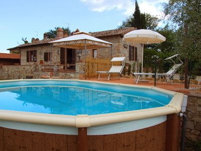 Photo for Chianti Villa with private pool - Sangiovese all'Aia