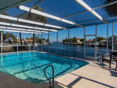 Photo for 3 BR, Waterfront, Pool, Dock, Views